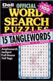 Dell Official Word Search Puzzles Magazine