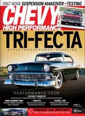Chevy High Perfomance Magazine