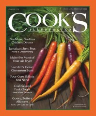 Cooks Illustrated Magazine