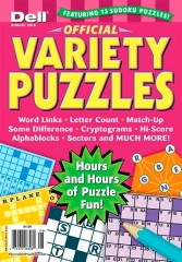 Official Variety Puzzle & Word Games Magazine