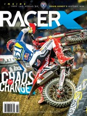 Racer X Illustrated Magazine