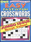 DELLS BEST EASY FAST N FUN CROSSWORDS Magazine