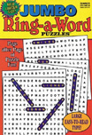 Jumbo Ring-a-Word Puzzles Magazine Subscription