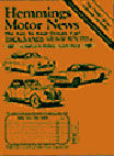 Hemmings Motor News Magazine