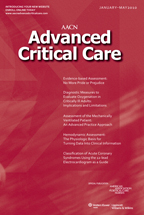 AACN Advanced Critical Care Magazine Subscription