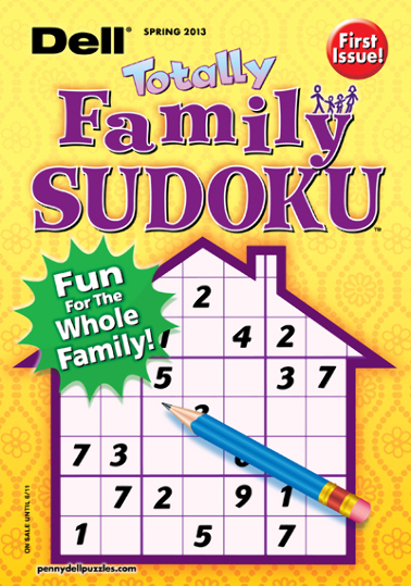 Dell Totally Family Sudoku Magazine Subscription