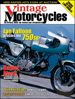 Vintage Motorcycle Magazine Subscription