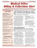Medical Office Billing & Collections Alert Magazine Subscription