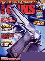 Guns Magazine Subscription