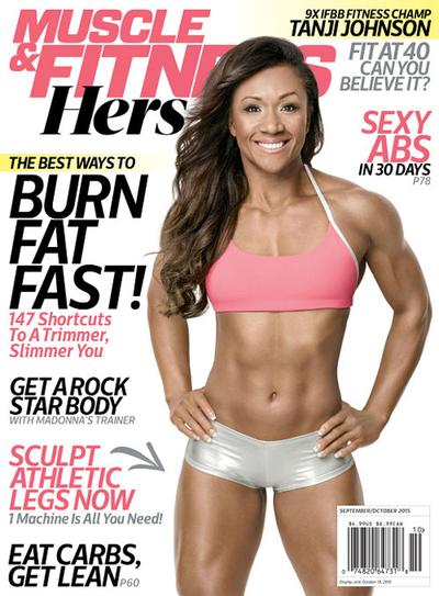 Muscle & Fitness Hers Magazine Subscription - MagazineDeals com