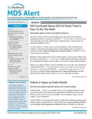 MDS Alert Magazine Subscription